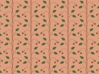 1950s style fabric textile ik011