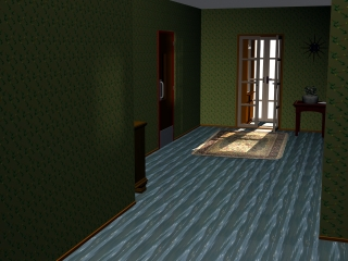 A Swell Hallway with FF084