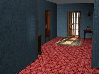 The Hallway 1950s style with xar160