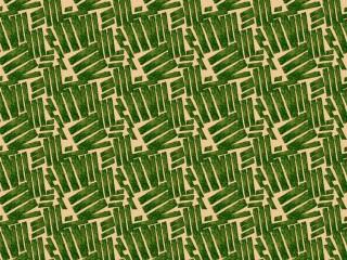 A mid-century fashion fabric