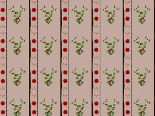 A very mid-century curtain pattern