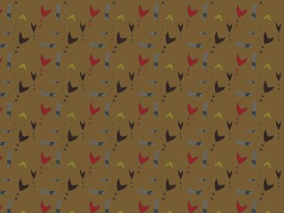 1950s inspired textile for furnishing