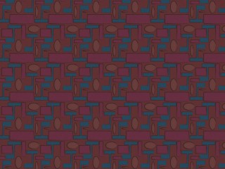 1950s style furnishing fabric