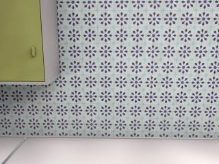 1950s tile wallpaper pattern