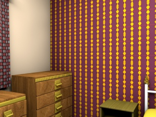 1960s style wallpaper designs