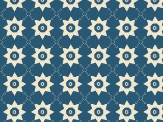 A cold and unfriendly 1960s wallpaper