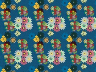 A lovely late 1960's inspired fabric
