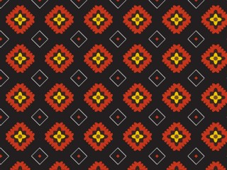 A late 1960's inspired dress pattern