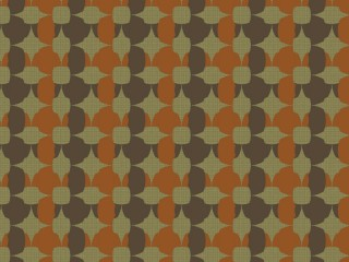 A standard mid-century furniture fabric pattern