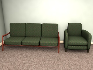 A Pleasant And Unobtrusive Upholstery Fabric