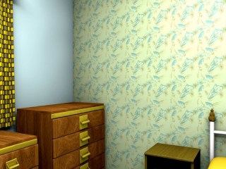 Restful Bedroom Wallpaper