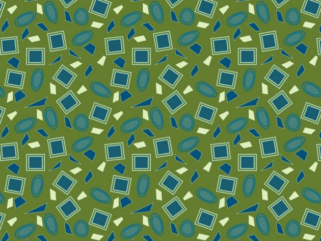 mid-century inspired fabric pattern