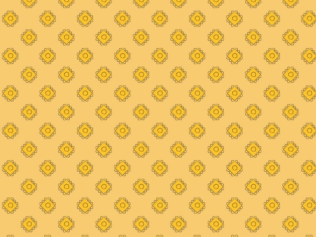 mid-century inspired wallpaper design