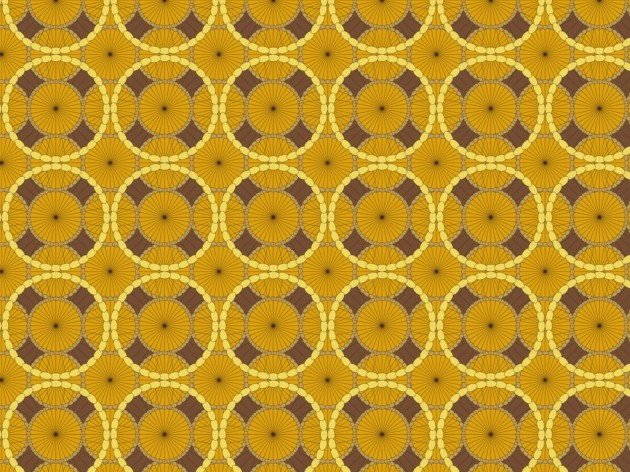 mid-century inspired surface pattern