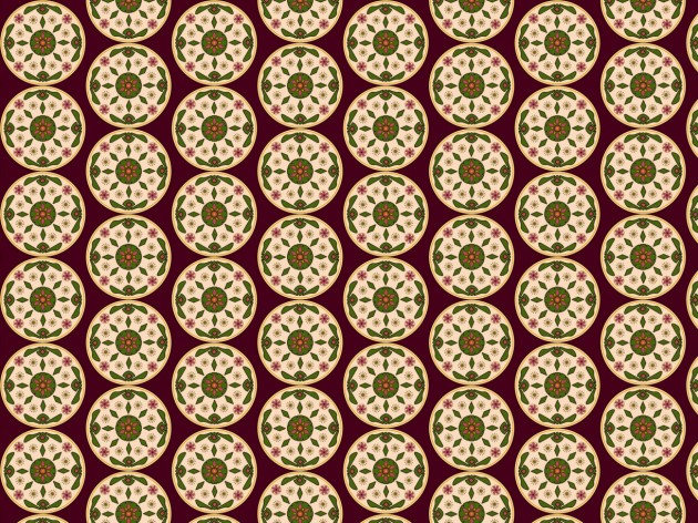 Wallpaper surface pattern traditional
