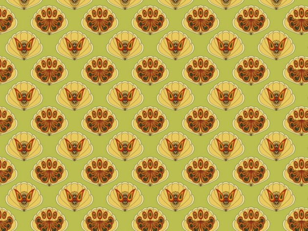 Classic pattern wallpaper
