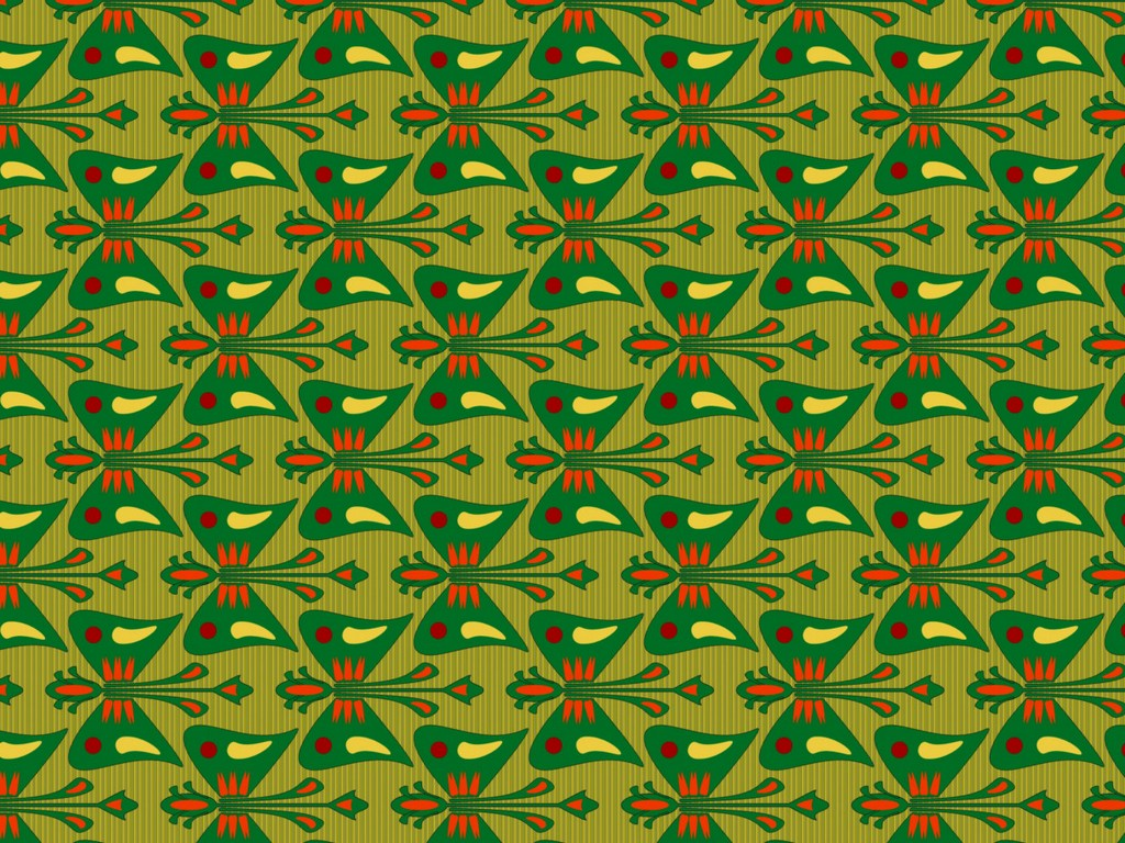 Surfacepattern intended for a carpet design