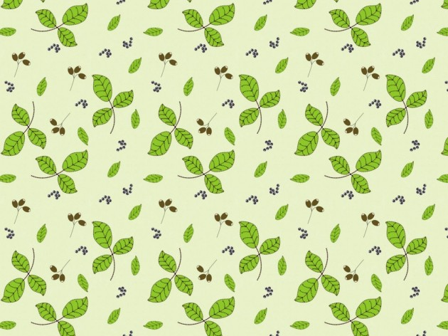 Simple Flowers Wallpaper Surface Pattern