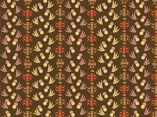Brown surface pattern