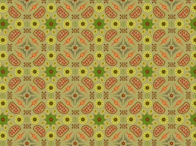 Simple mid-century inspired design for furnishing fabric