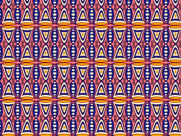 Mid-century pattern inspired by earlier designs